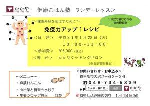 免疫力チラシのサムネイル