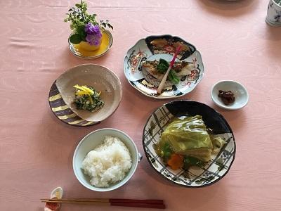 きゃべつの重ね煮 健康ごはん塾 2019/2/19 かかや 春日部 クッキングサロン