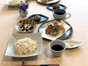 天ぷら うどん 和食 2019.2 ベーシッククラス かかや春日部 クッキングサロン 料理教室