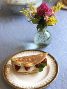 2019.5 ベーシッククラス 一g帆のパンケーキ かかや春日部 クッキングサロン 料理教室