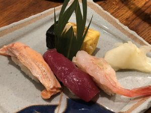 2019.5.27 お寿司の会 岩槻ぎゃらりーかかや お寿司1