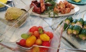 トマトのマリネ 2019/8/28 納涼会  かかやクッキングサロン 春日部 料理教室