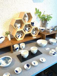 近藤聖子 2019.8 夏のかかや7 陶器ディスプレー かかや春日部