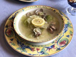 あさりとキャベツのスープ 2019.9 フレンチデモクラス かかや春日部 クッキングサロン