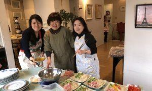 準備3 2020.1.8 新年会 かかや 春日部 クッキングサロン 料理教室