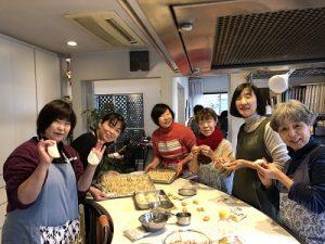 準備4 2020.1.8 新年会 かかや 春日部 クッキングサロン 料理教室