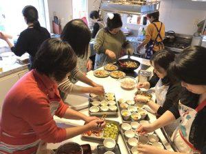準備6 2020.1.8 新年会 かかや 春日部 クッキングサロン 料理教室