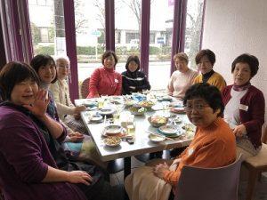 集合写真1 2020.1.8 新年会 かかや 春日部 クッキングサロン 料理教室