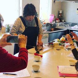 鯛を下す 春のおもてなし中華 2020.3.29 ワンデーレッスン かかやクッキングサロン 料理教室 かかや春日部