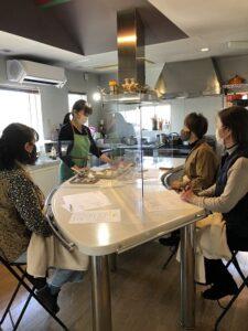 健康ごはん塾 感染予防 2021.1.14 かかや クッキングサロン 料理教室 春日部 埼玉